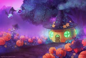 Witch's hut by Haychel