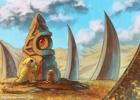 Heart of the Desert by Haychel