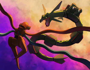 Deoxys vs Rayquaza [Tales of Elysium]