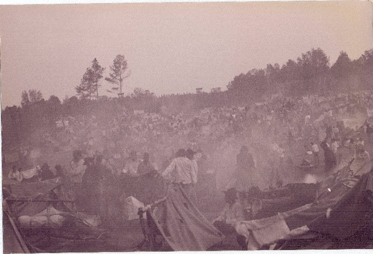andersonville chatrooms 1864 - near andersonville ga, rebels open a new pow camp camp sumpter 1865 - civil war skirmish near sturgeon,  1971 - chatrooms make their debut on the internet.