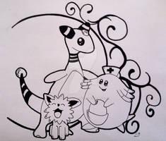 Pokemon Tattoo Design