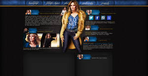Ordered layout with Jennifer Lopez