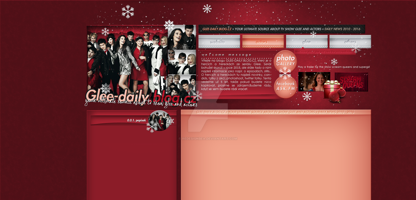 Ordered layout with Glee by redesignbea