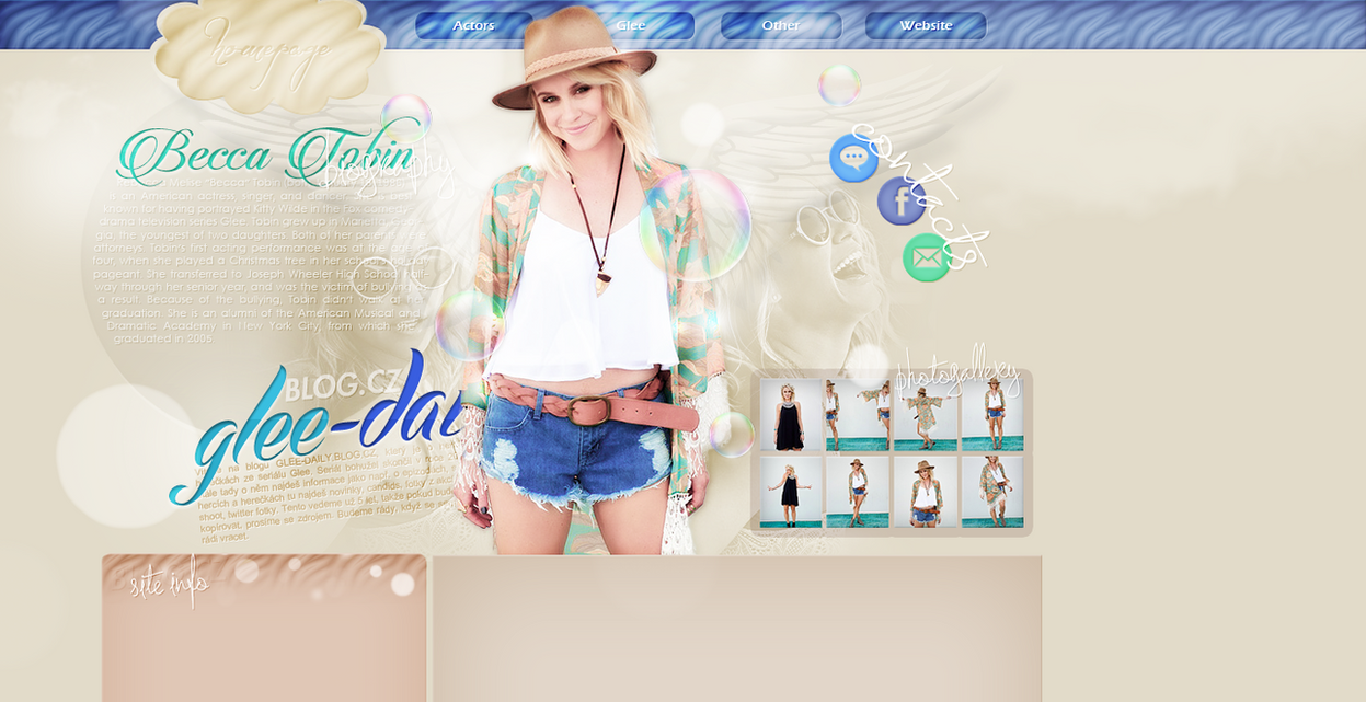 Ordered layout with Becca Tobin by redesignbea