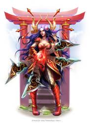 League of Legends : Irelia by Philiera