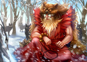 League of Legends : Udyr by Philiera
