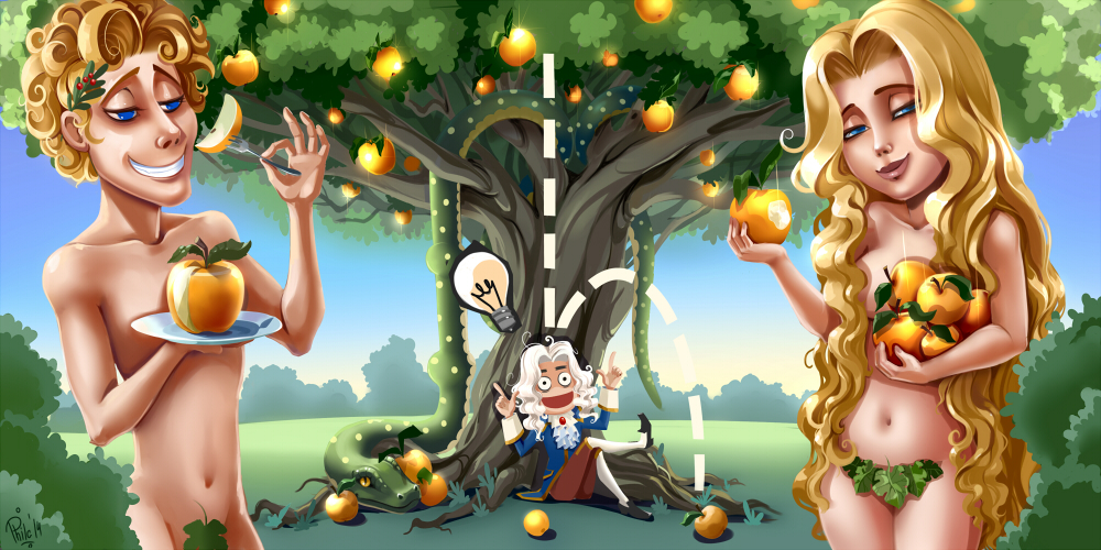 Adam and eva by philiera on deviantart for Adan y eva en el jardin del eden
