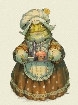 Frog maid