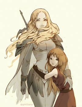 Claymore : Teresa and Clare