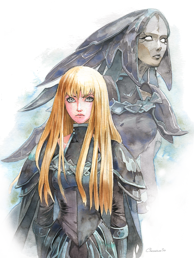 Claymore :Alicia and Beth