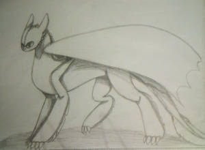 Toothless Sketch #01
