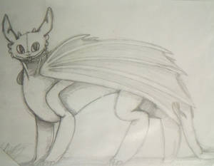 Toothless Sketch #02
