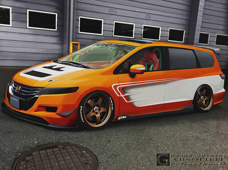 Honda Odyssey Absolute By Guzspeed On Deviantart