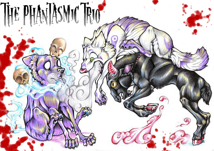--The Phantasmic Trio-- by DiamondEden