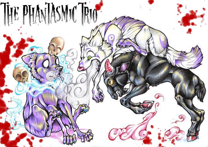 --The Phantasmic Trio-- by DiamondEden