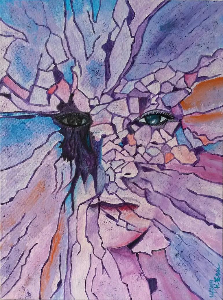 Broken Mind 2 (40/30cm) by MedeaSafir