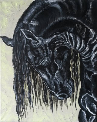 Black Magic (50/40cm) by MedeaSafir