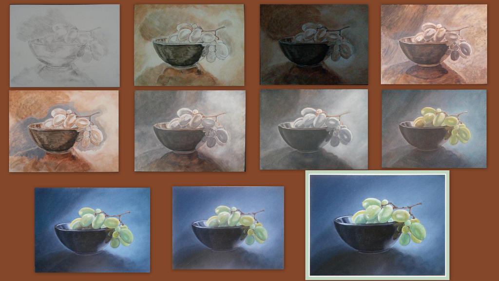 Trauben WIP-Collage by MedeaSafir