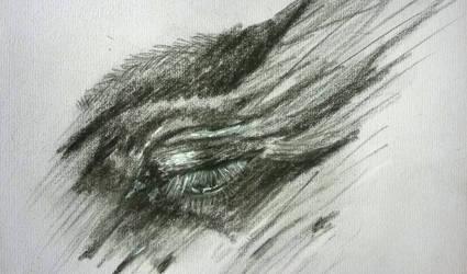 Eye Sketch1 by MedeaSafir