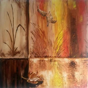 Fall (90/90cm) by MedeaSafir