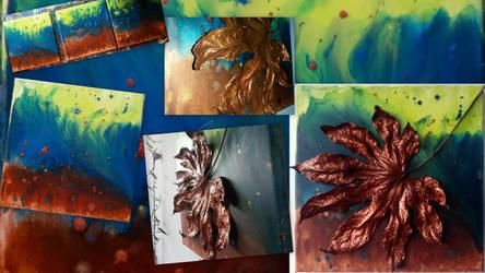 Leaf_bronze-Collage by MedeaSafir