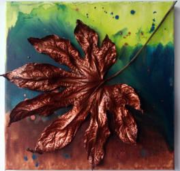 Leaf_bronze (30/30cm) by MedeaSafir