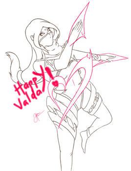 Happy ValDay! from Lanaya