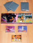 Ginga Nagareboshi Gin Trading Card Storage Boxes