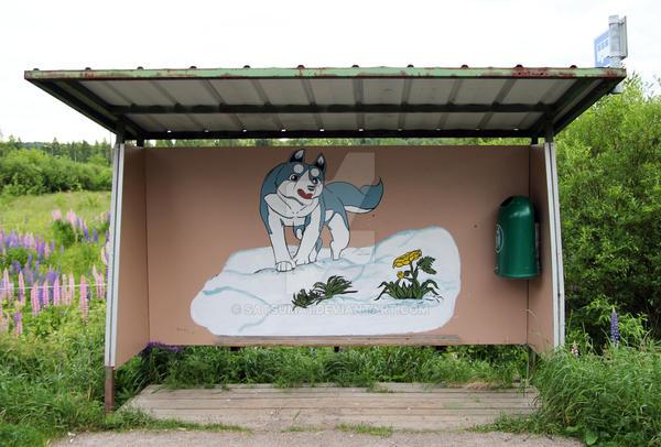 Ginga Bus Stop by Satsuma1
