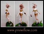 FAWN GIRL sculpture