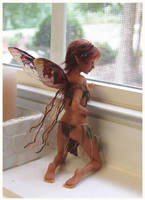 The Captive FAERIE SCULPTURE by pixiwillow