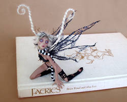 COBWEB fairy SCULPTURE