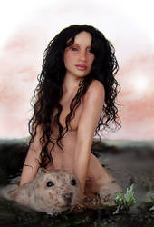 The Selkie Wife    SCULPTURE by pixiwillow