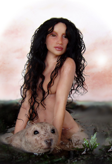 SELKIES The_Selkie_Wife____SCULPTURE_by_pixiwillow