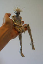 Meet Jack - full (unfinished marionette) by pixiwillow