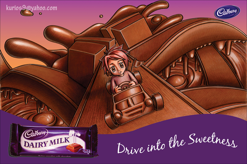 Cadbury Dairy Milk by kurios9 on DeviantArt