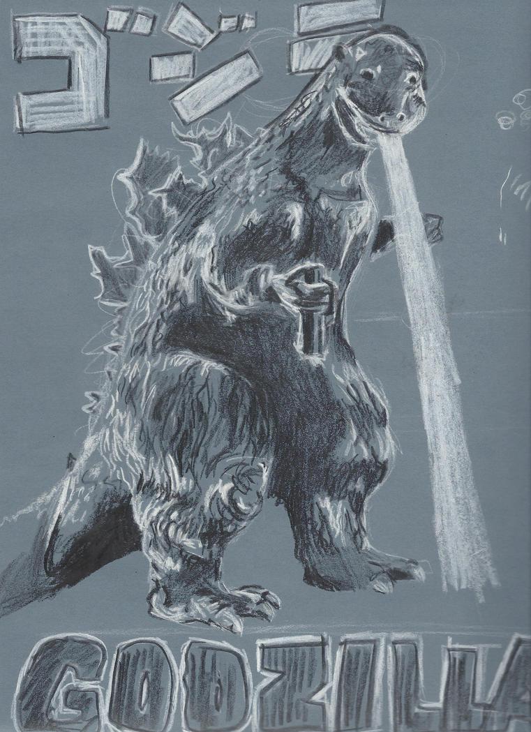 G is for Godzilla by emmafloflo