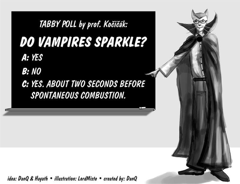 Tabby Poll: SparklingVampires?