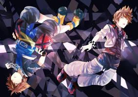 Falling by Midorizou