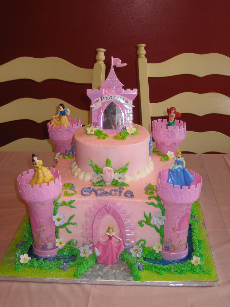 Pictures Of Princess Castle Cake : Princess Castle Cake by ohnoono on DeviantArt