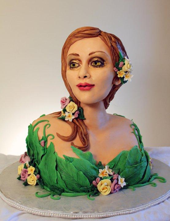 Garden Faerie Cake by ohnoono