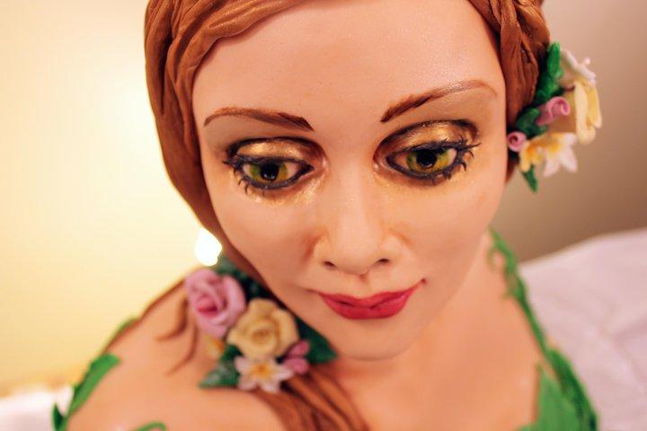 Cake Artist Sarah Jones : Garden Faerie Cake detail by ohnoono on deviantART