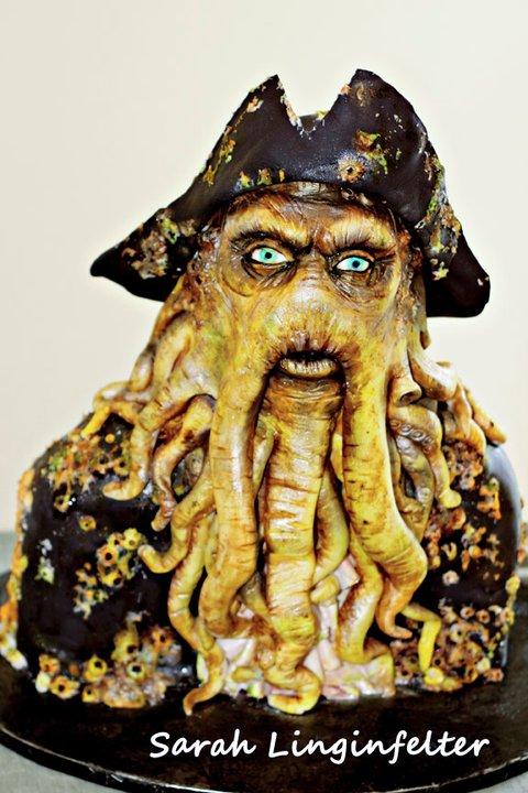 Davy Jones Cake by ohnoono