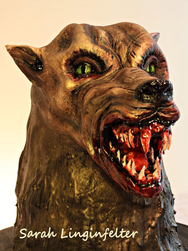 werewolf cake by ohnoono