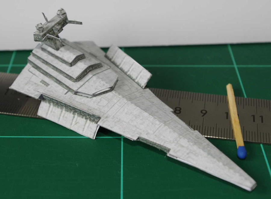 how to make a paper star destroyer