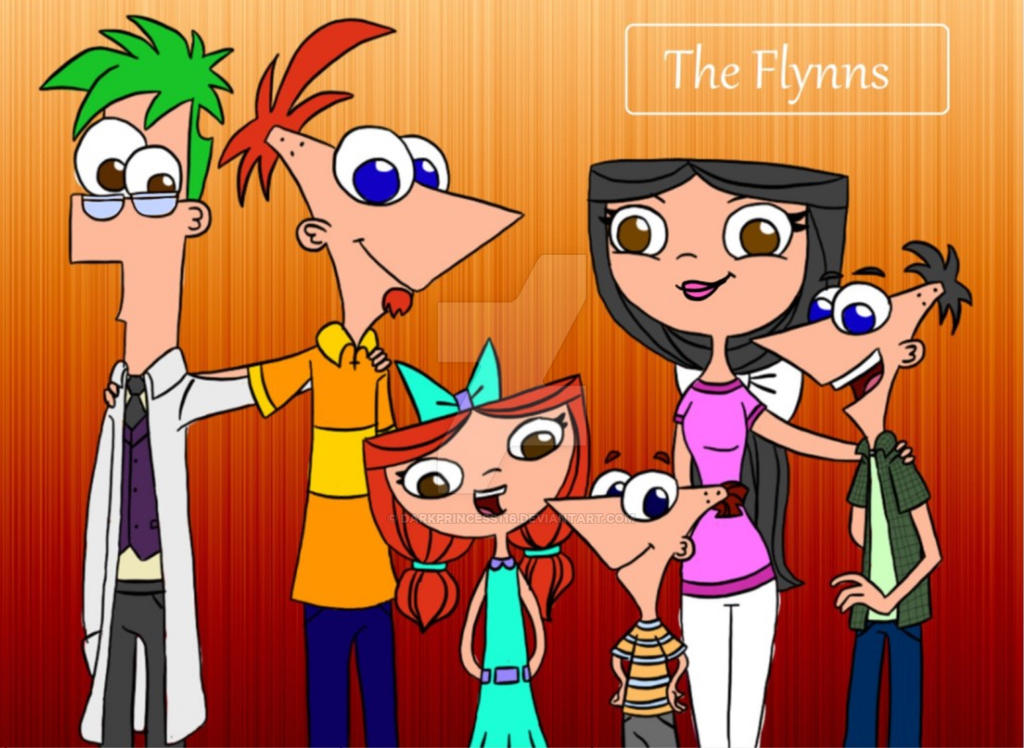 phineas and isabella meet their kids
