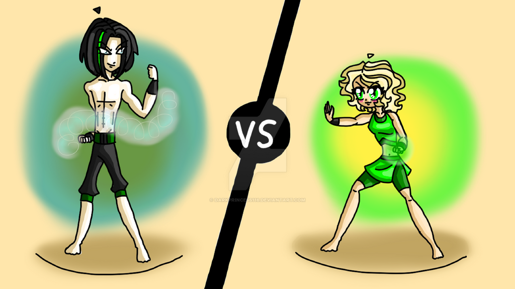 Ninjago morro vs leyla by darkprincess116 on deviantart - Ninjago vs ninjago ...