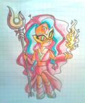 STEVEN UNIVERSE - Fire Opal Chibi Sketch
