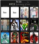 2015 ART SUMMARY by DarkPrincess116