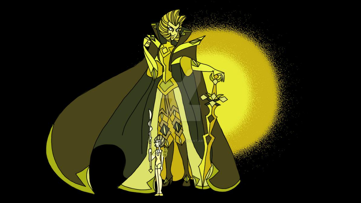 Steven universe yellow diamond s war suit by darkprincess116 on
